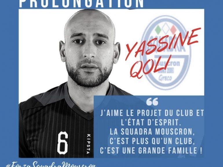 Prolongation de Yassine QOLI