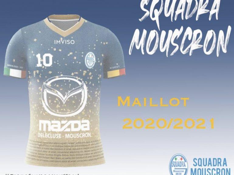 Le nouveau maillot de la Squadra Mouscron est connu…