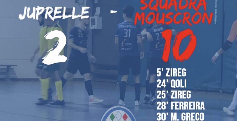 Première victoire de la saison… Premier tour de Coup de Belgique.