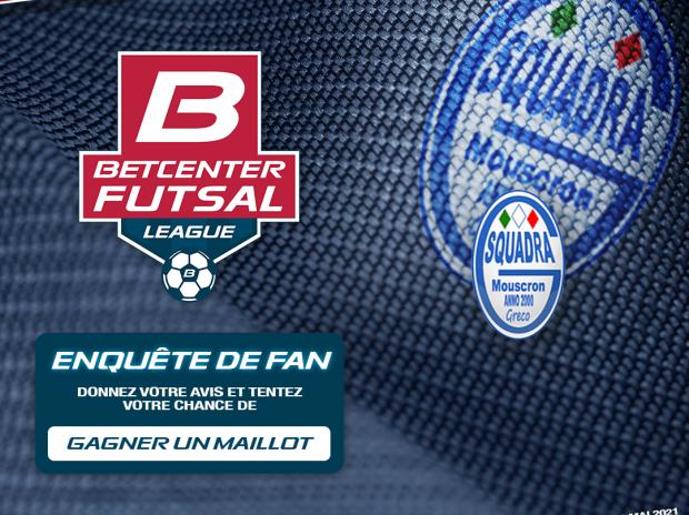 Aidez-nous à améliorer Le Futsal Belge et gagnez un Maillot !
